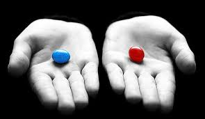 Rouge ou Bleue? Vérité ou mensonge? - Red or Blue? Truth or lie?