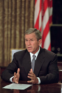 911 255px-President_George_W._Bush_addresses_the_nation_from_the_Oval_Office_the_evening_of_Sept._11,_2001