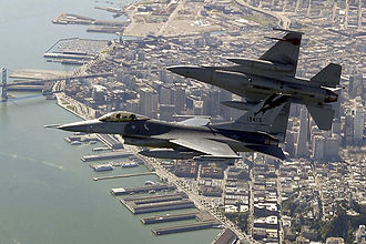 911 330px-F-16Cs_California_ANG_over_SanFran_2004