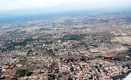Combiatore - Aerial_view_of_coimbatore_(5060620904)