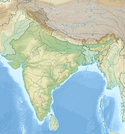 Combiatore - India_relief_location_map